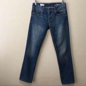 GAP 1969 Real Straight Medium Wash Denim Jeans